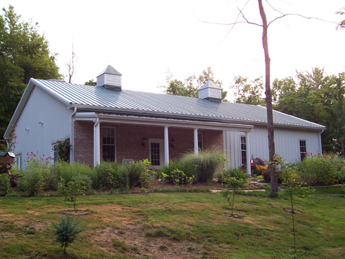 1000 images about the captain s dream on pinterest for Steel frame barn homes